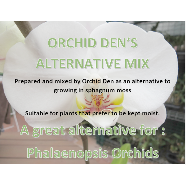orchid den's alternative mix label