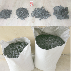 two sack of charcoal