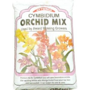 a bag of cymbidium orchid mix