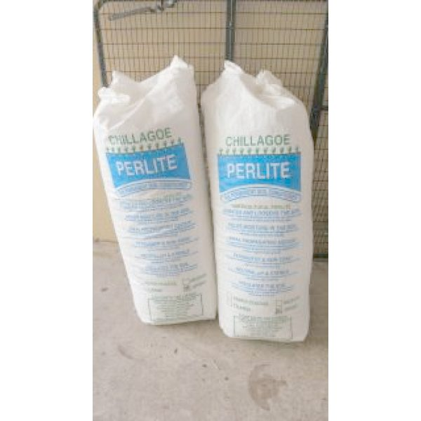 two sacks of perlite