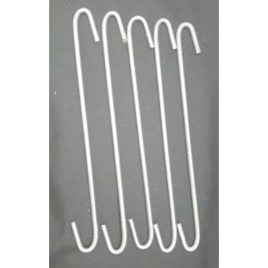pack of five s hooks