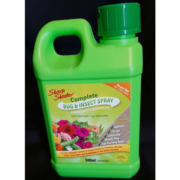 a small jug of bug and insect spray insecticide