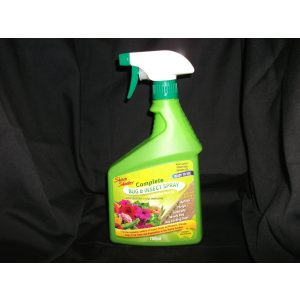 a bottle of bug and insect spray