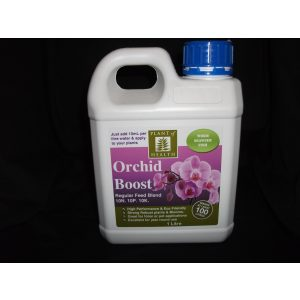 a jug of orchid boost