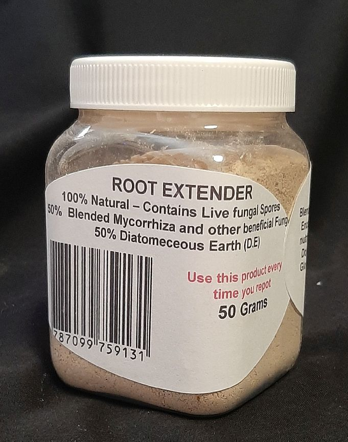 a cannister of root extender