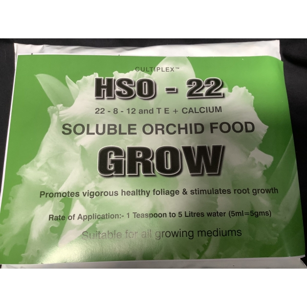 soluble orchid food for plant growth